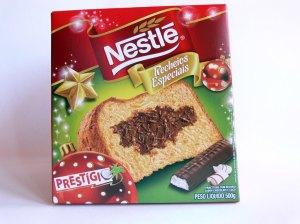 Panettone Nestlé Recheios Especiais